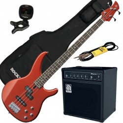 Yamaha TRBX204 Bright Red Metallic Pack