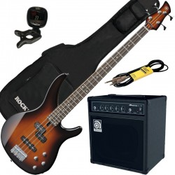 Yamaha TRBX204 Old Violin Sunburst Pack