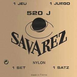 Jeu Cordes Savarez 520 jaune tirant fort