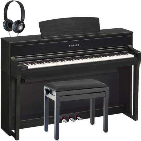 Yamaha CLP-675B Black Full Pack