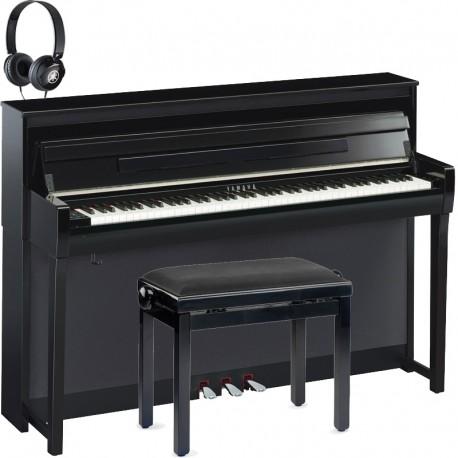 yamaha clavinova clp 685pe noir lacqu full pack. Black Bedroom Furniture Sets. Home Design Ideas