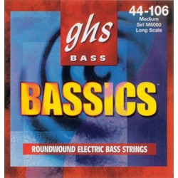Jeu Cordes GHS Bassics Medium Light