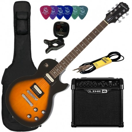 Pack Epiphone Les Paul Studio LT VS