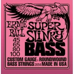Jeu Cordes Ernie Ball Super Slinky 45/100