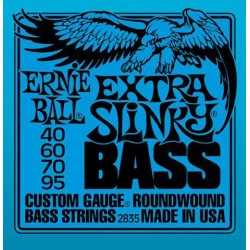 Jeu Cordes Ernie Ball Extra Slinky 40/95