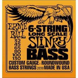 Jeu Cordes Ernie Ball 6 Cordes Slinky 32/130