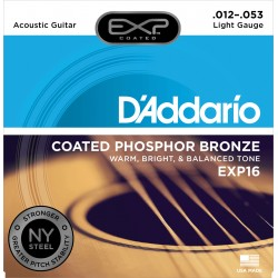 Jeu Cordes d'Addario Phosphore Bronze Light