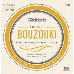 Jeu Cordes d'Addario Bouzouki Irlandais