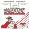 Jeu Cordes Argentine Mandoline
