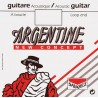 Corde Savarez Argentine à Boucle Acier Nu