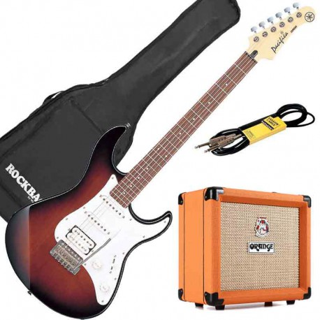 Yamaha Pack Guitare Electrique Pacifica 112J OVS