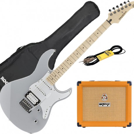 Yamaha Pack Guitare Pacifica + Orange cruh 20 + Accessoires