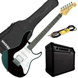 Yamaha Pack Guitare Electrique Pacifica 112J BL + line 6 spider v20