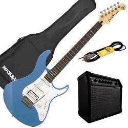 Yamaha Pack Guitare Electrique Pacifica 112J LPB + Line 6 spider v20