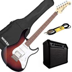 Yamaha Pack Guitare Electrique Pacifica 112J OVS +Line 6 spider V20
