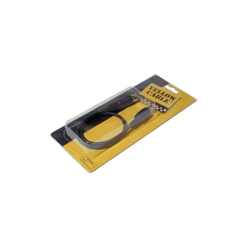 Yellow cable cordon midi 1m musicarius - Rallonge electrique 1m ...