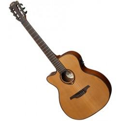 Guitare Lag Auditorium Nylon CTW E/A Gaucher T200