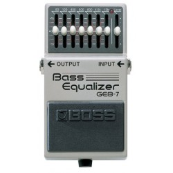 Pédale Boss Bass Graphic Equalizer GEB-7