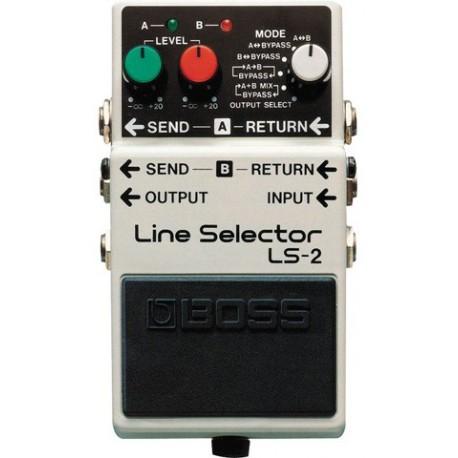 Pédale Boss Line Selector