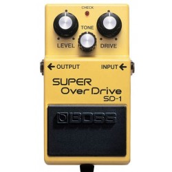 Pédale Boss Super Overdrive
