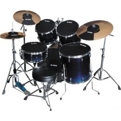 """Vic Firth Pack Mute Kit Complet Fusion 22"""""""