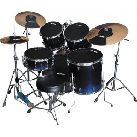"""Pack Mute Vic Firth Kit Complet Fusion 22"""""""