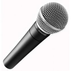 Micro Shure SM Voix Dynamique Cardioïde SM58