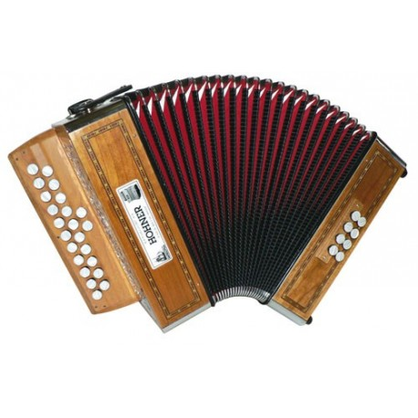 Accordéon Diatonique Hohner Merlin II