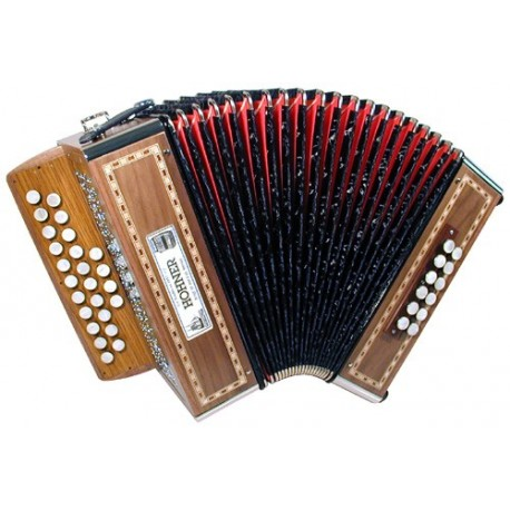 Accordéon Diatonique Hohner Galaad II