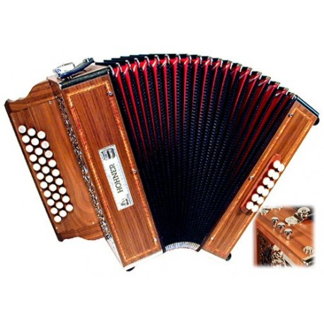 Accordéon Diatonique Hohner Valparaiso