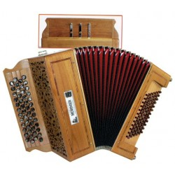Accordéon Chromatique Hohner Fun Celtique III