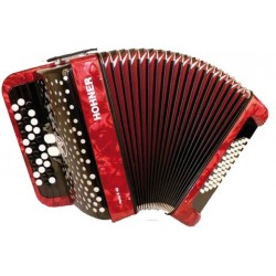 Accordéon Chromatique Hohner Nova II 40 Rouge