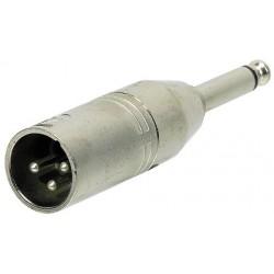 2 Adaptateurs J 6.35 Mono Mâle/XLR Mâle Y. Cable