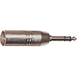 2 Adaptateurs J 6.35 ST Mâle/XLR Mâle Y. Cable