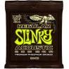 Jeu Cordes Ernie Ball Slinky Acoustic 12/54