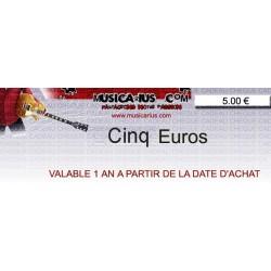Chèque Cadeau 5 €
