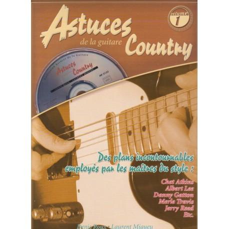 Astuces de la guitare country Vol 1