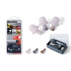 Music Safe Pro, 3 bouchons, 3 filtres, 1 étui