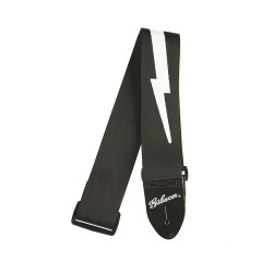 """Gibson Courroie Lightning Bolt Style 2"""" Safety Strap"""