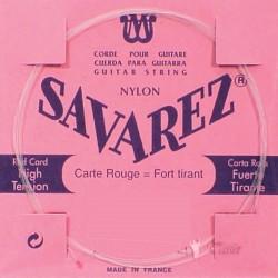 Corde Savarez Classique Rouge Détail